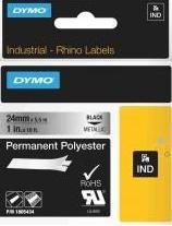 18486 Rhino Polyester tape 12mm Metallic