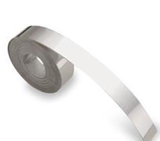 358-00 Dymo aluminium tape Klevend 12.7mm x 3.66m