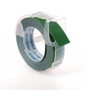 1X Groen Dymo LetterTape 3D 9mm voor Dymo handlettertang