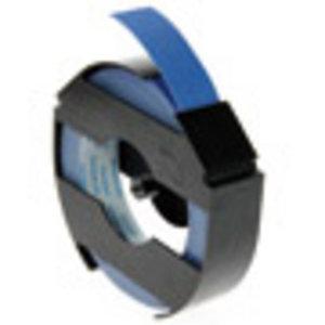 1X Blauw Dymo LetterTape 3D 9mm voor Dymo handlettertang