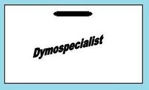 Dymo Naambadge groot, niet-klevend 0929110