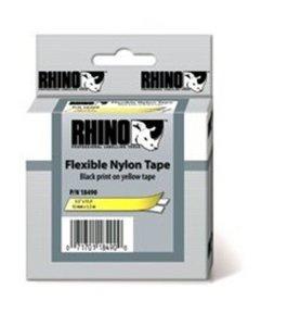 18490 Rhino Nylon flex 12mm Geel